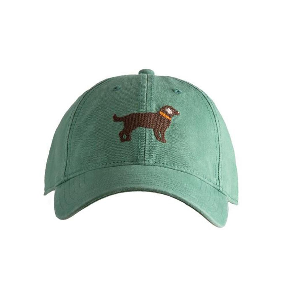 [Hardinglane]Adult`s Hats Moss Green-Chocolate Lab