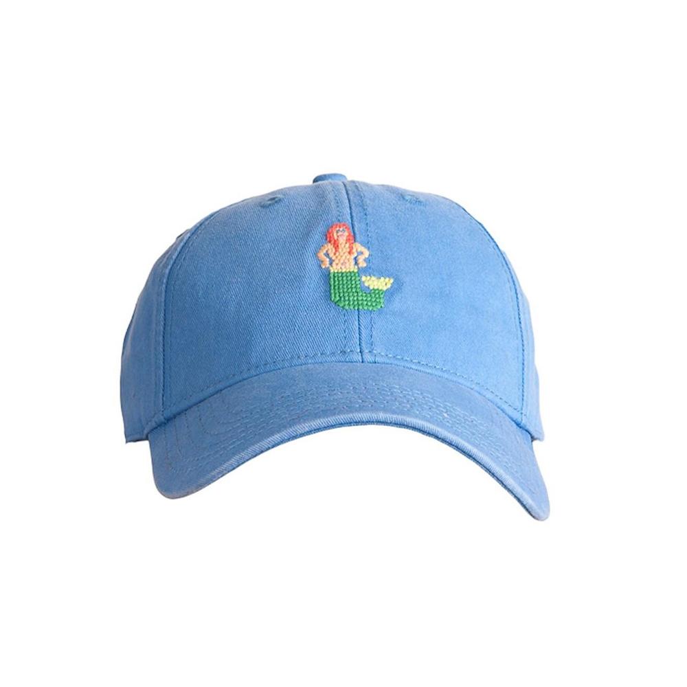 [Hardinglane]Adult`s Hats Mermaid on Periwinkle Blue