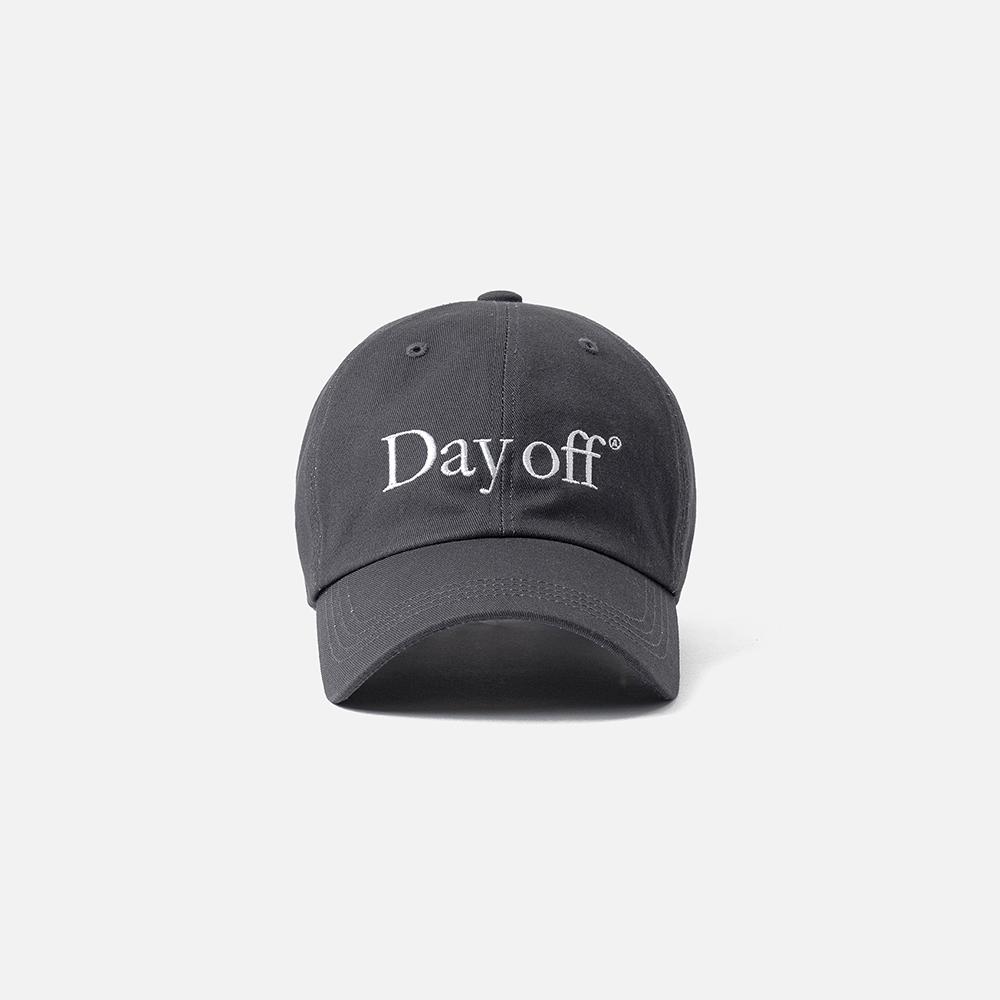 [AECA WHITE]DAY OFF CAP-CHARCOAL(5월 31일 예약배송)