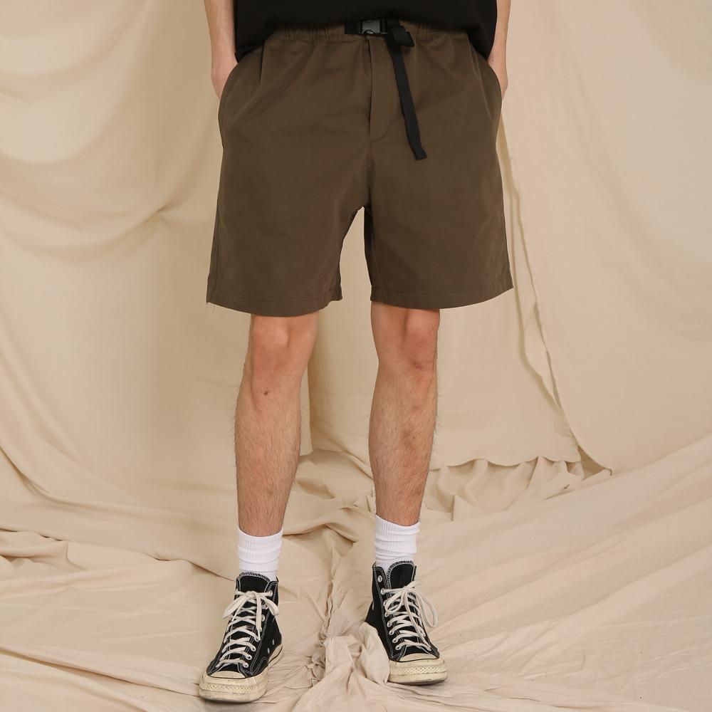 UTILITY COMFORTABLE SHORT PANTS (KHAKI)