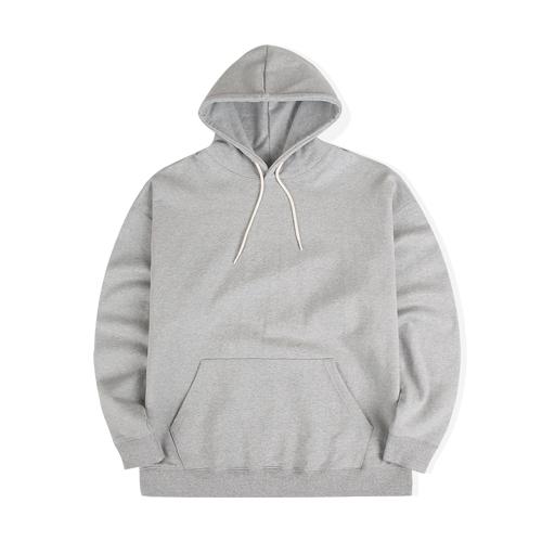 21S/S 루즈핏 후디 스웨트 셔츠 (그레이)