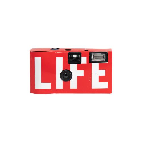 일회용 수동 필름 카메라 - 레드