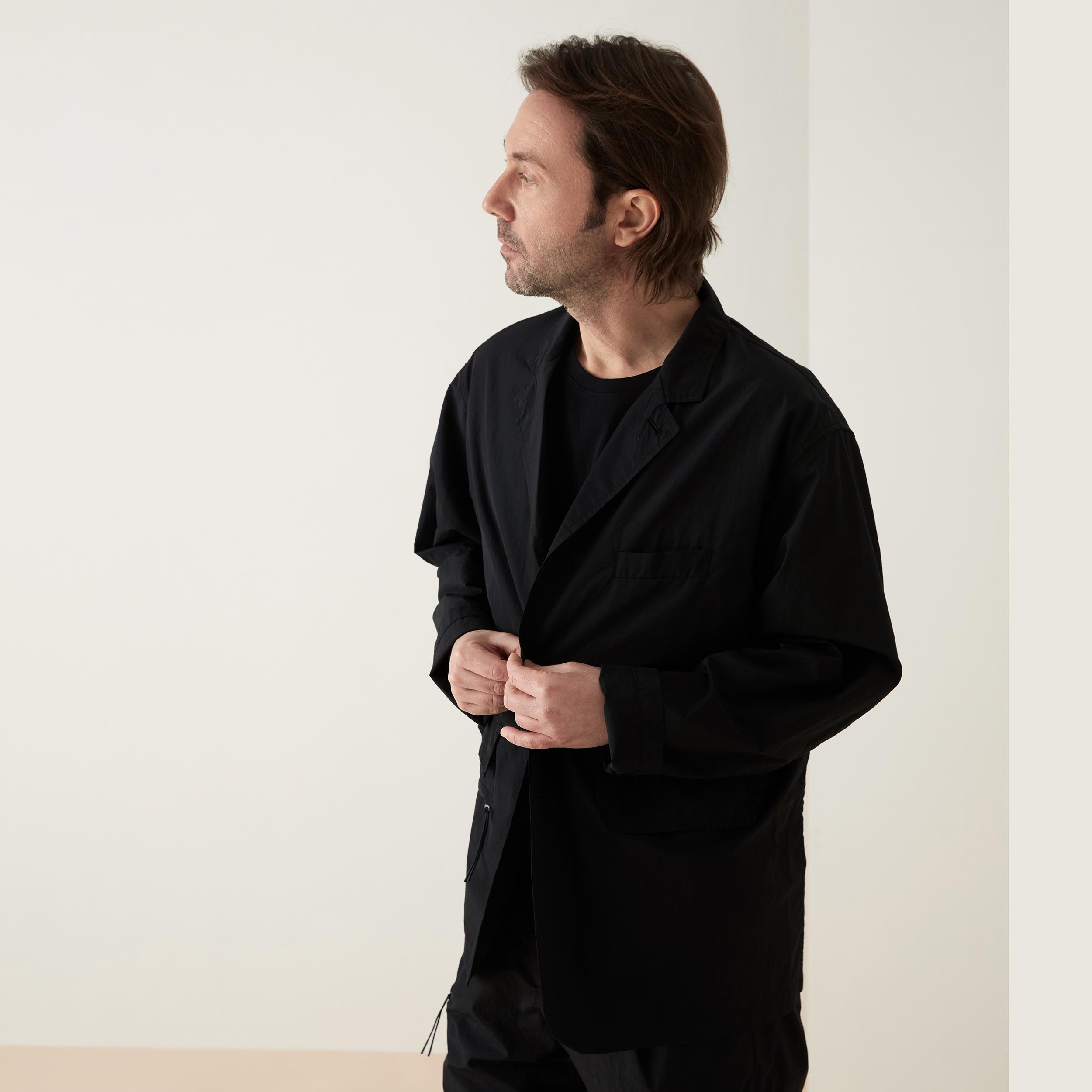 koyu man - nylon jacket (black)