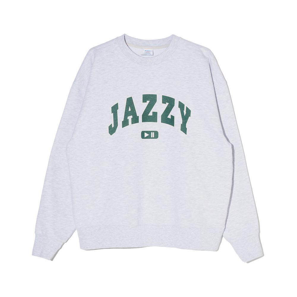 Jazzy Sweat Shirt (Heather Grey)