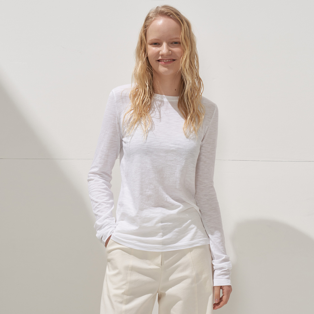 LONG-SLEEVED T-SHIRTS_WHITE