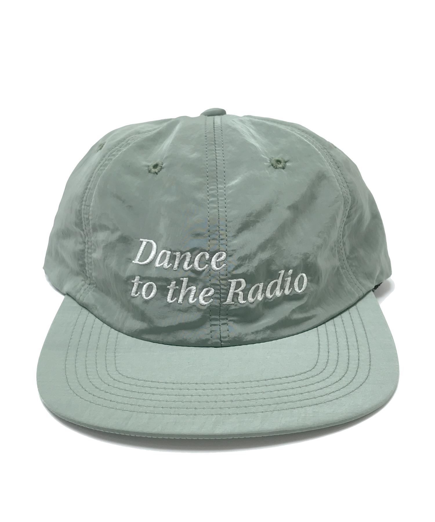 DANCE TO THE RADIO NYLON CAP OLIVE