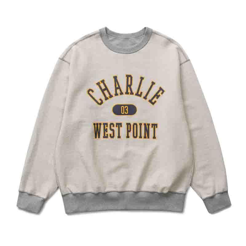 Charlie Revesible Sweatshirt