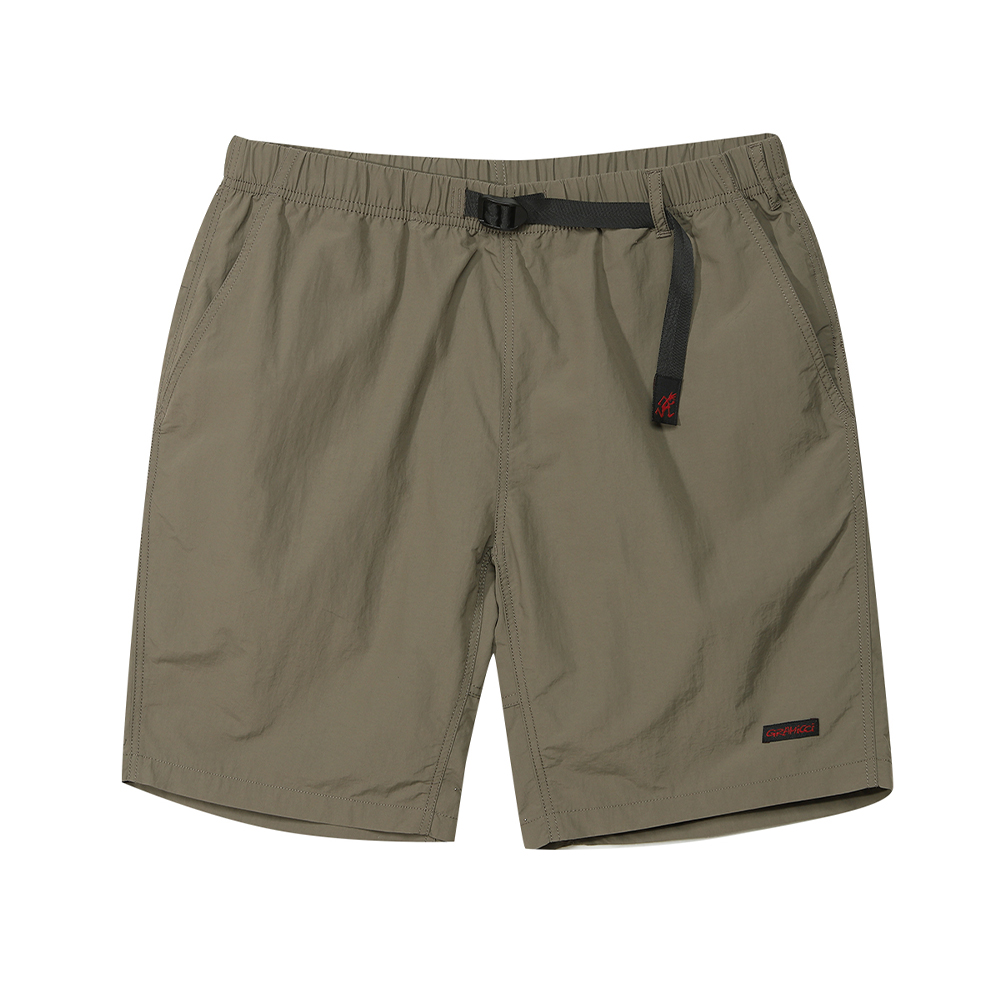 SHELL PACKABLE SHORTS ASH OLIVE
