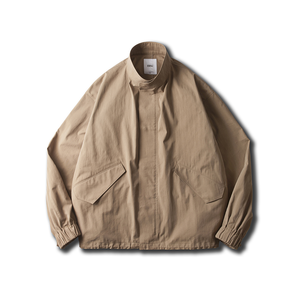 [ESFAI] M65 FISHTAIL SHORT OVER JACKET (BEIGE)