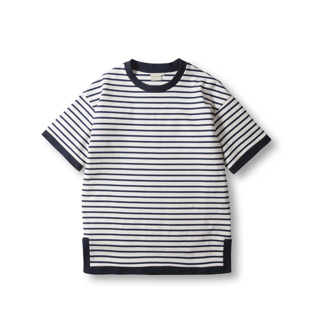 Marin Stripe T Shirts - White
