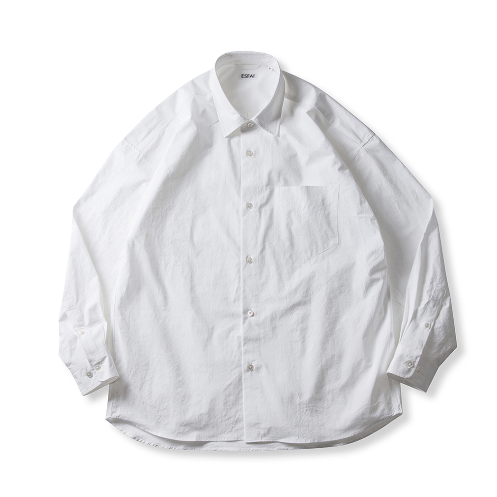 [ESFAI] OXST OVER SHIRTS (OFF WHITE)