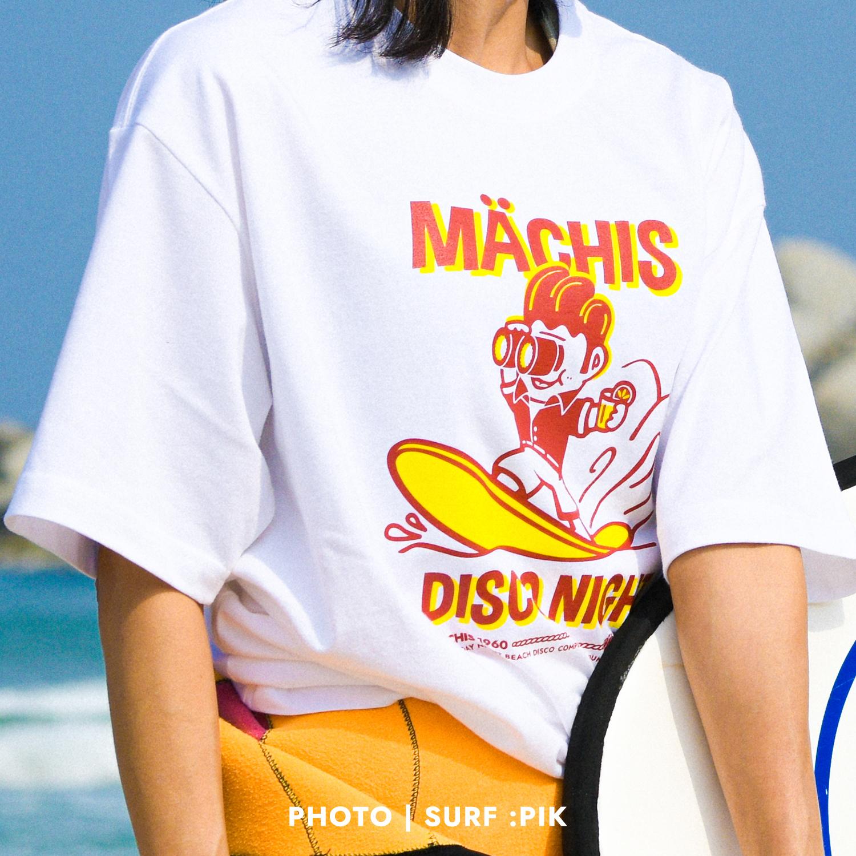 서핑 마치스 07 화이트 티셔츠