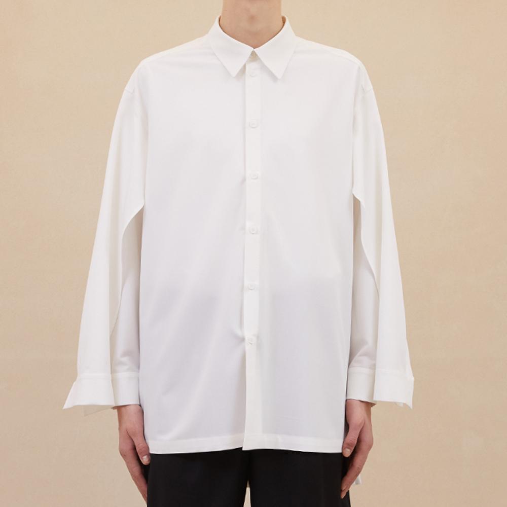 Double Sleeve Shirts - White