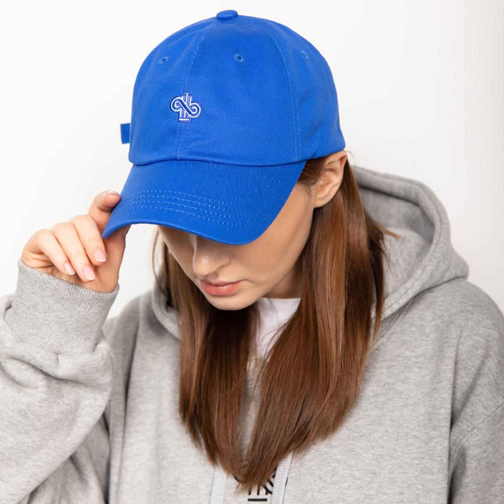 SIGNATURE LOGO CAP BLUE