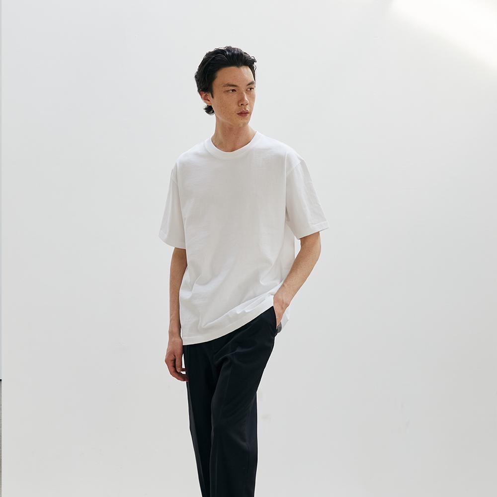 ERD Regular fit T-shirts White