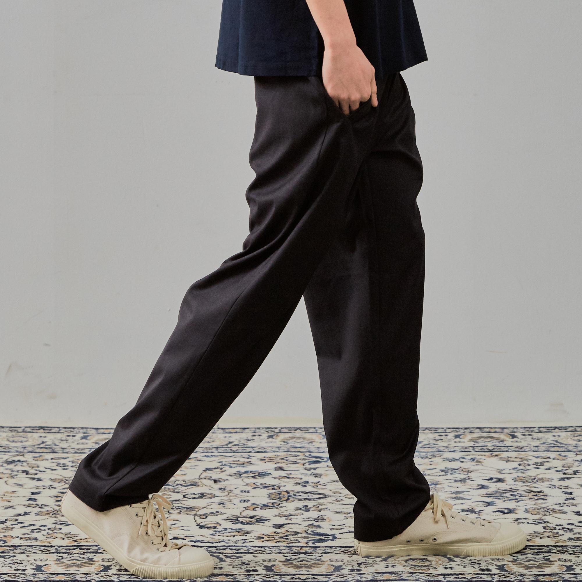 [3차리오더]Half Banding Slacks Pants_Grey