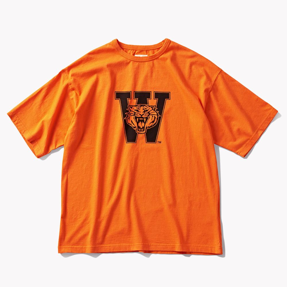 DTR1961 DTRO+AFST  W.Tigers S/S TEE Orange