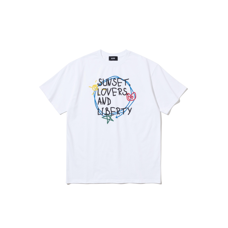 위시리스트 티셔츠 01 WHITE