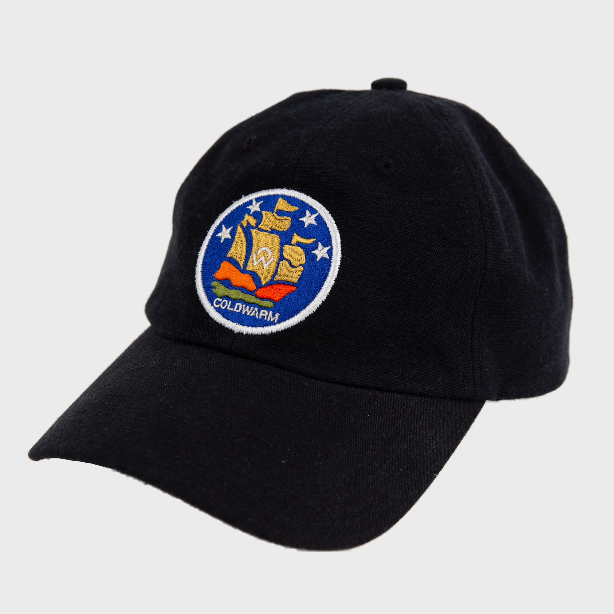 COLDWARM EMBLEM BALL CAP-BLACK