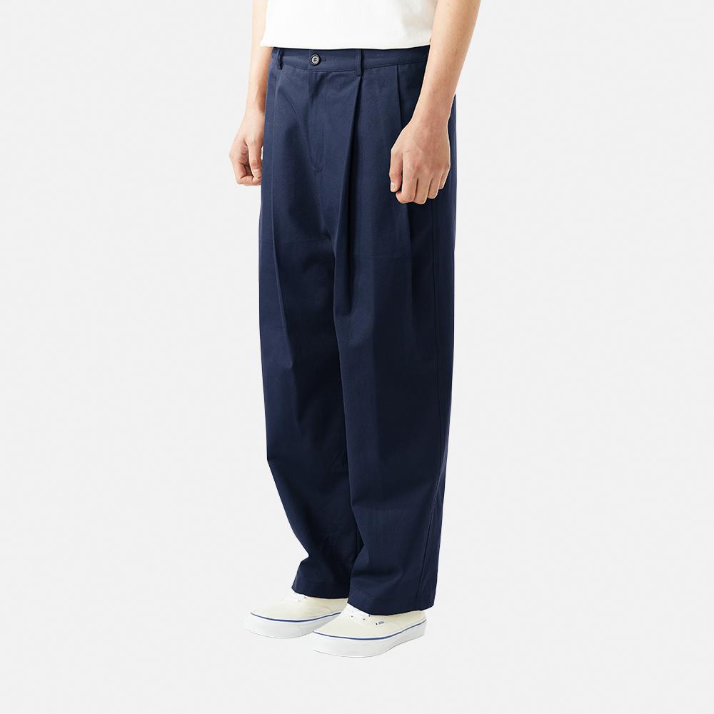 [ONO] Chino Silhouette Pants_Navy