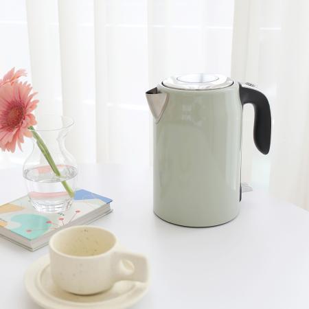 [mooas] 밀키팟 원터치 전기포트 무선 주전자 커피포트