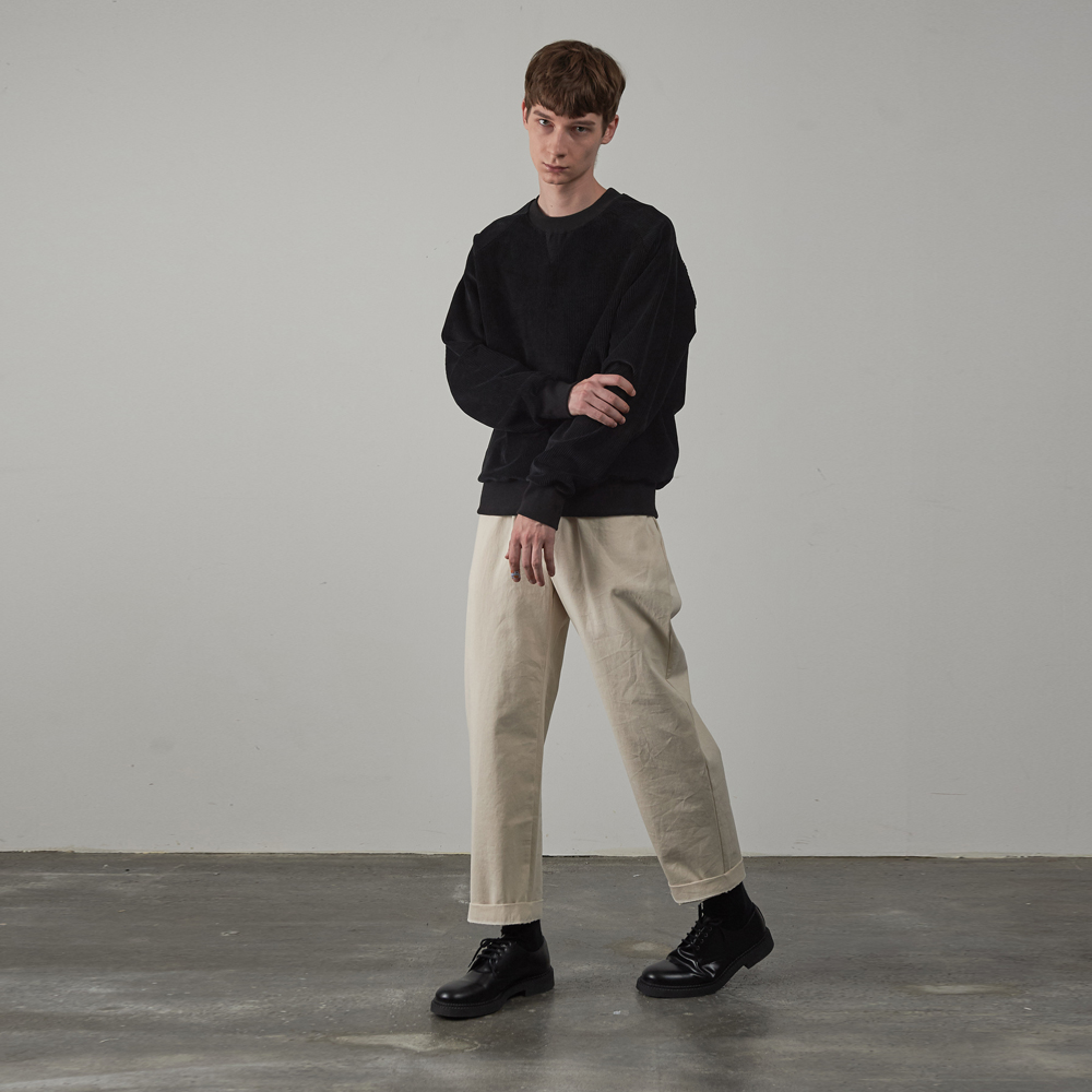 19FW STANDARD BANDING PANTS [OFF WHITE]