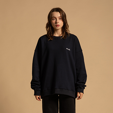 [라온] Unisex basic rogo Sweatshirt (NA)