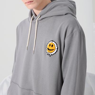 (송민호착용) SMILE HOOD (CEMENT)