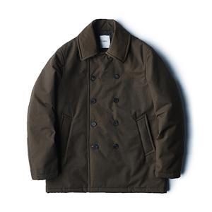 fo319 Padding Pea Coat (Khaki)