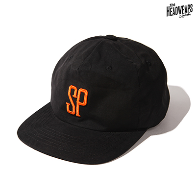SP Baseball Cap Type.2 -Black-