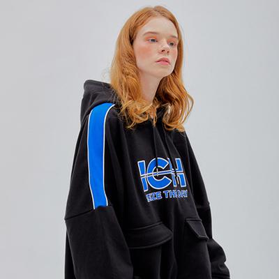 Ich signature hoodie[Black]