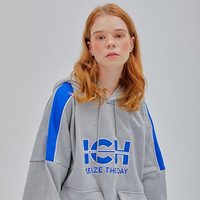 Ich signature hoodie[Gray]