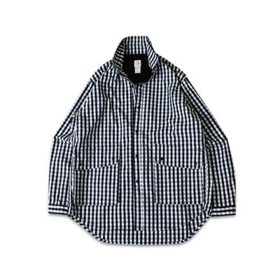 60/40 피셔맨 셔츠 깅엄 네이비