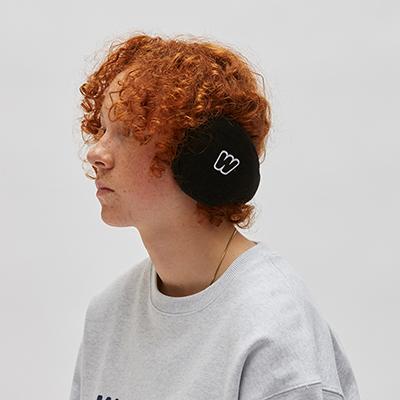 WKNDRS EAR MUFFS (BLACK)