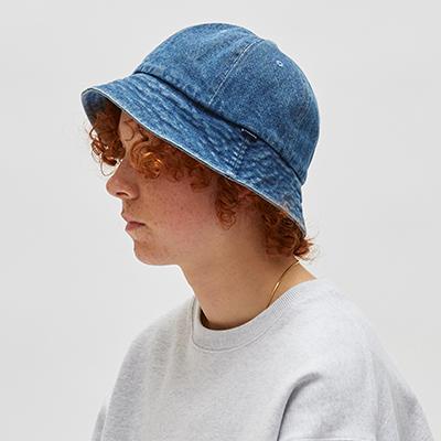 DENIM BUCKET HAT (DENIM)