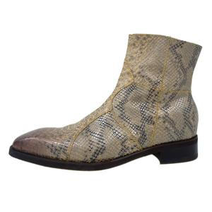 [RS ARCHIVE]Anaconda Boots - Python Beige