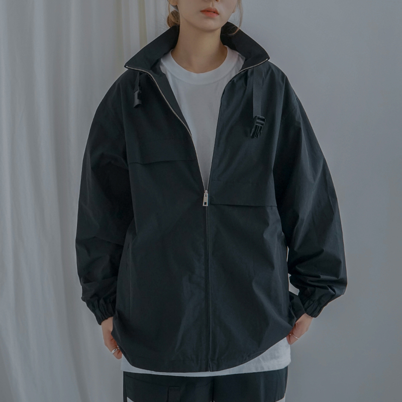 Buckle track top (BK)