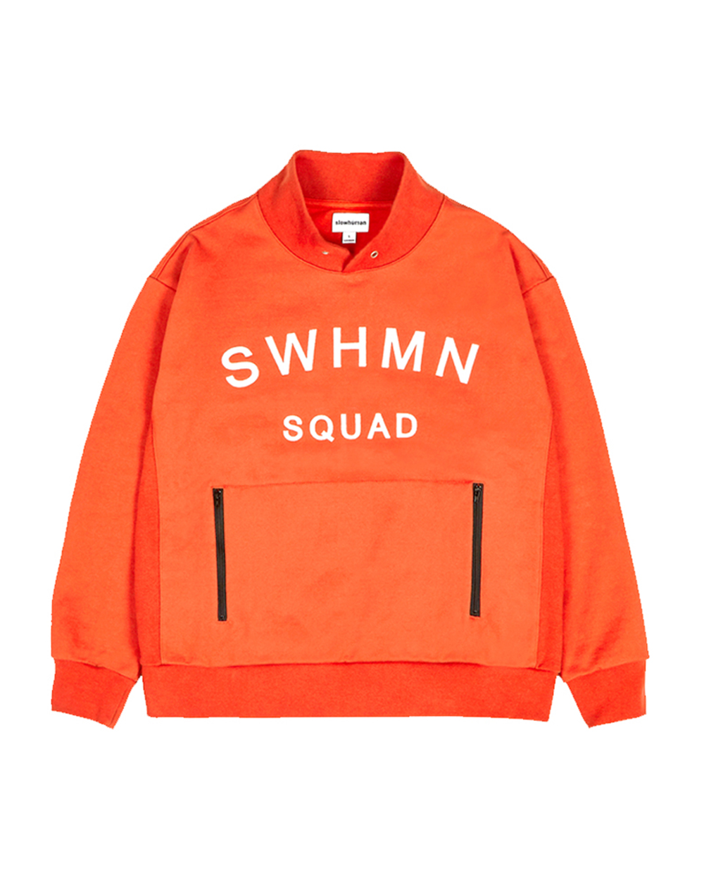 SWHMN SQUAD COLLAR SWEAT SHIRT