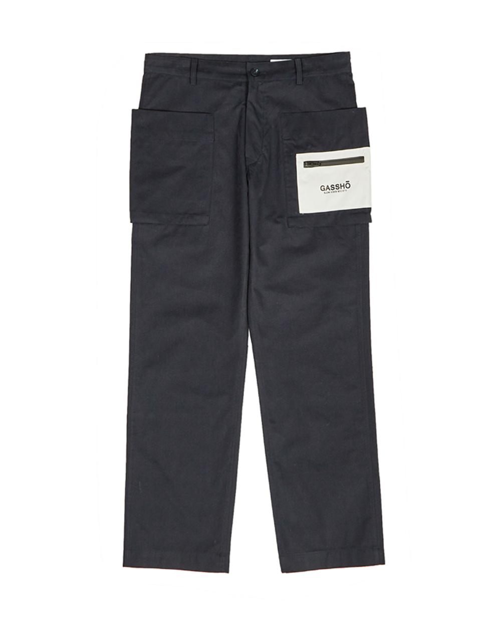 GASSHO POCKET PANTS