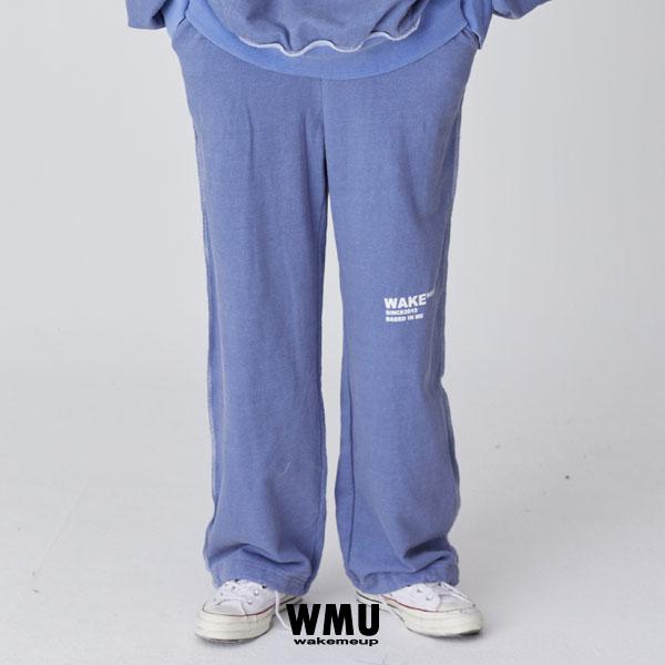 WMU PIGMENT TRAINING PANTS - BLUE