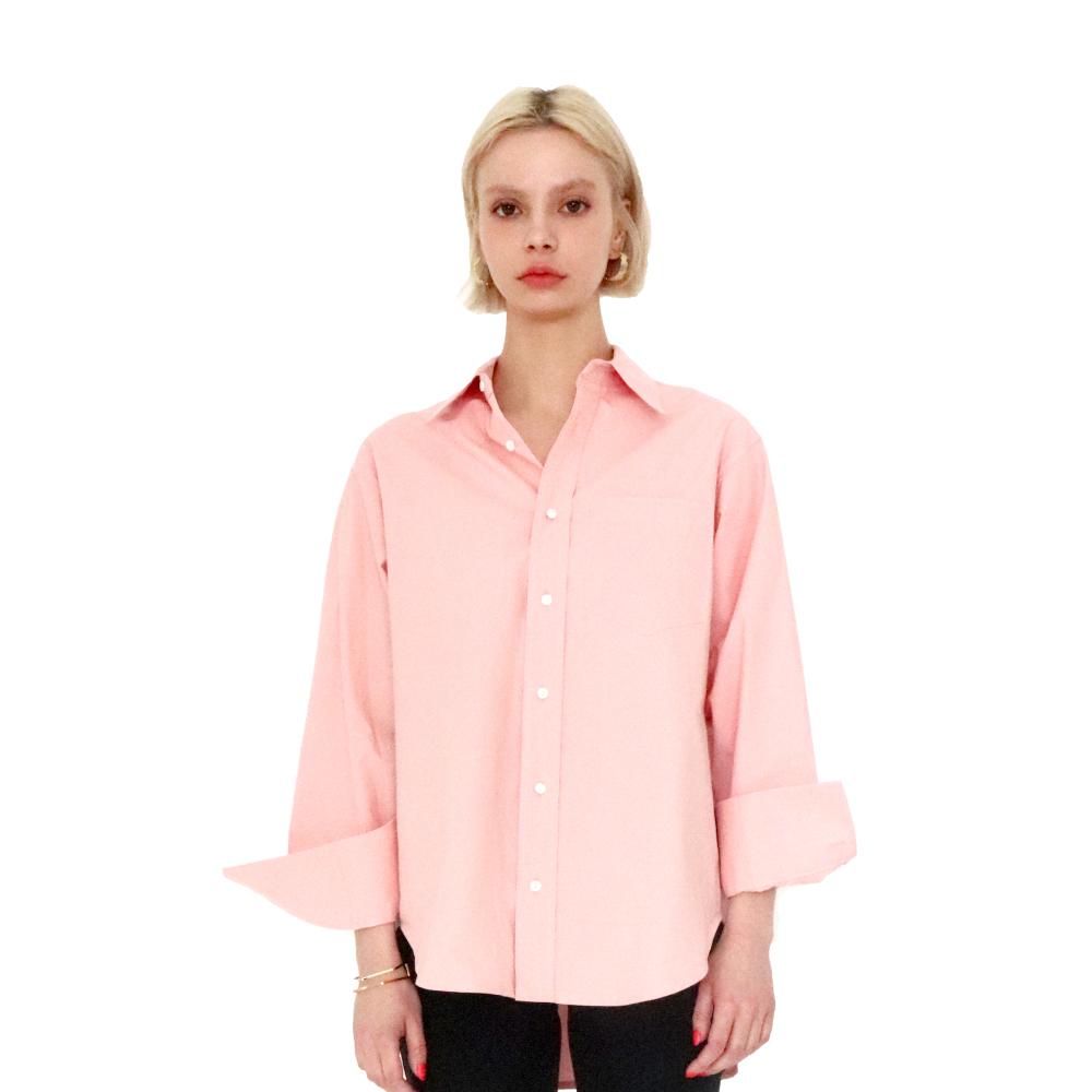 Overfit Basic Shirt (pink)