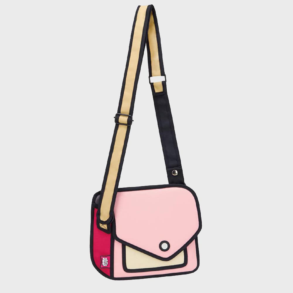 [점프프롬페이퍼] Giggle Shoulder Bag - Pink