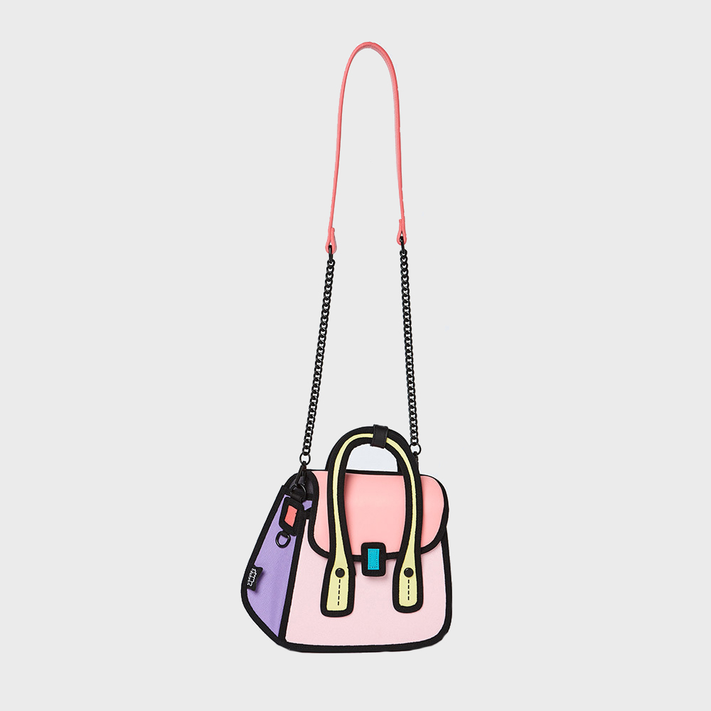 [점프프롬페이퍼] Owl Handbag - Pink