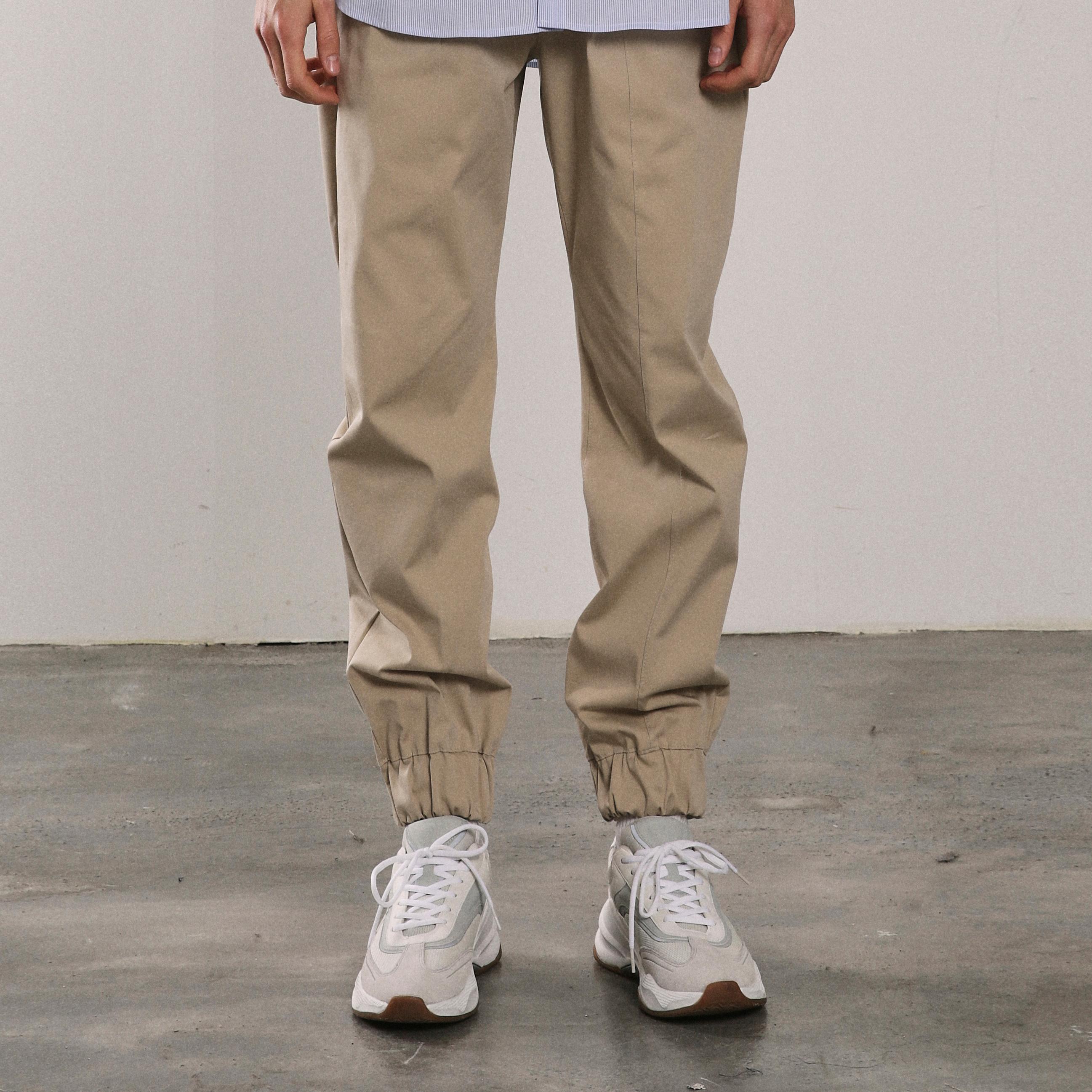 20SS SLIT JOGGER PANTS [BEIGE]