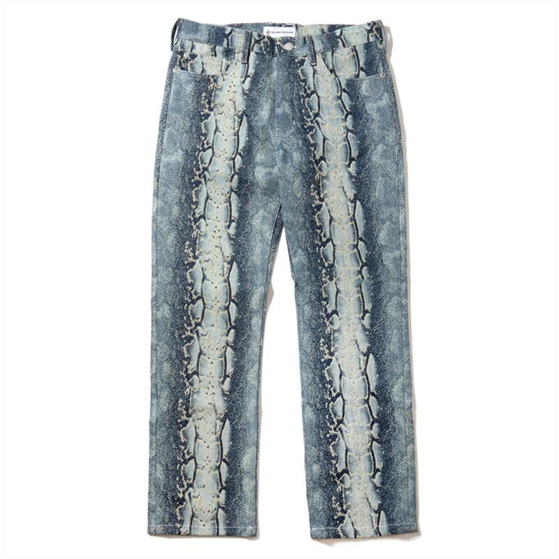 [키드밀리, 오케이션, 쇼미더머니9 먼치맨 & 언텔  착용] Python Denim Pants