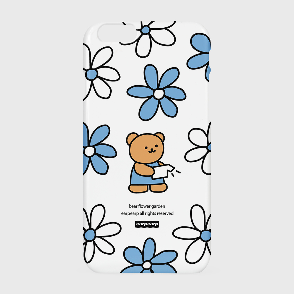 Bear flower garden-white