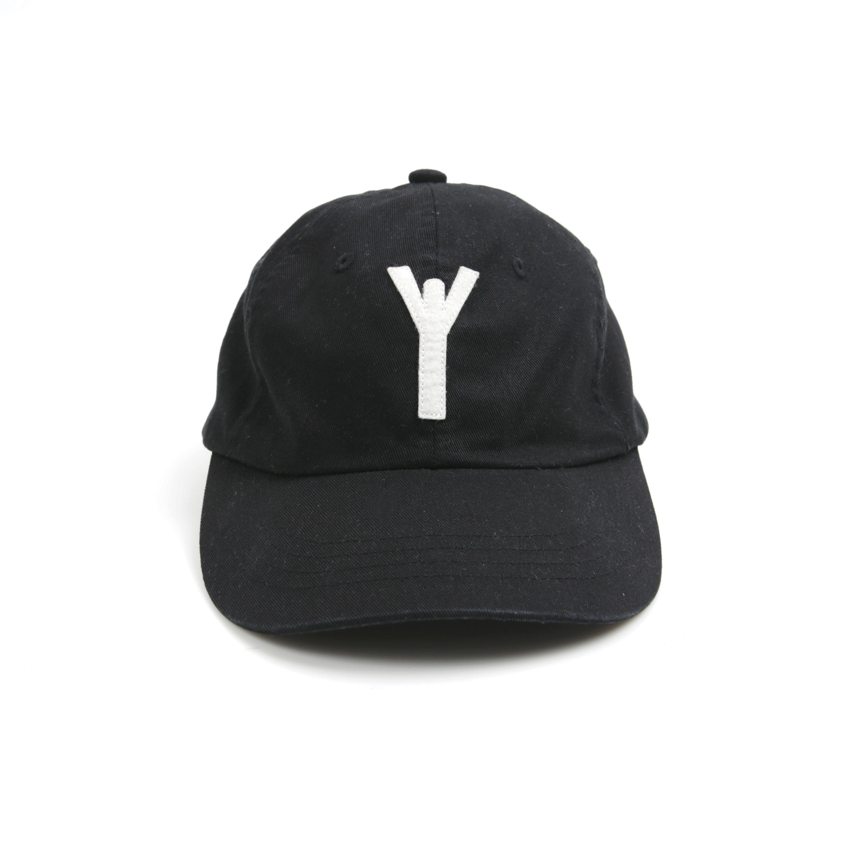[RYOO] Symmetric Y-logo_cap #5 [black]