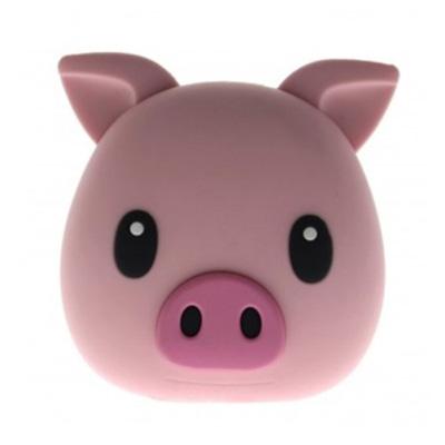 모지파워 보조배터리 피그 MOJIPOWER SOFT TOUCH 5200mAh Pig