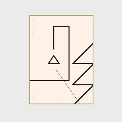 balance line - ZIGZAG (500x700mm)