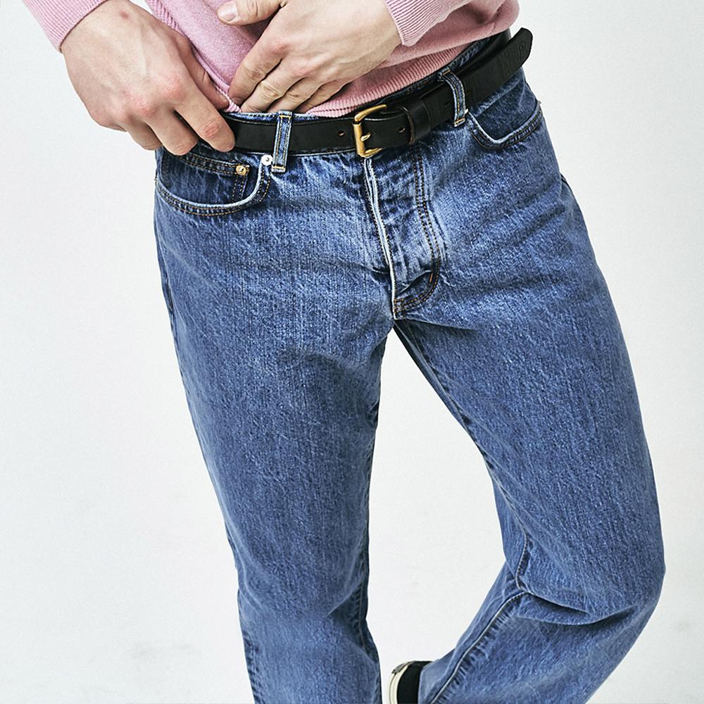 Light blue washed jean